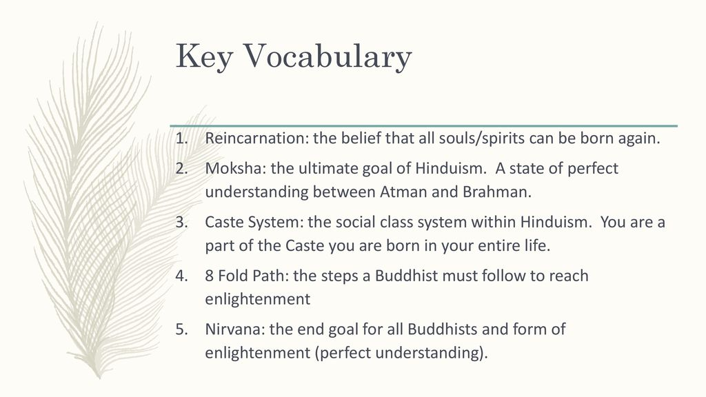 World Religions Hinduism & Buddhism  - ppt download