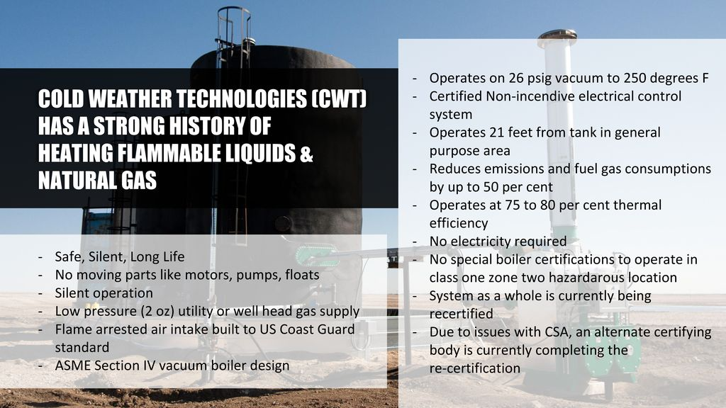 In-Direct Steam Heat in Light Oil Process Applications - ppt
