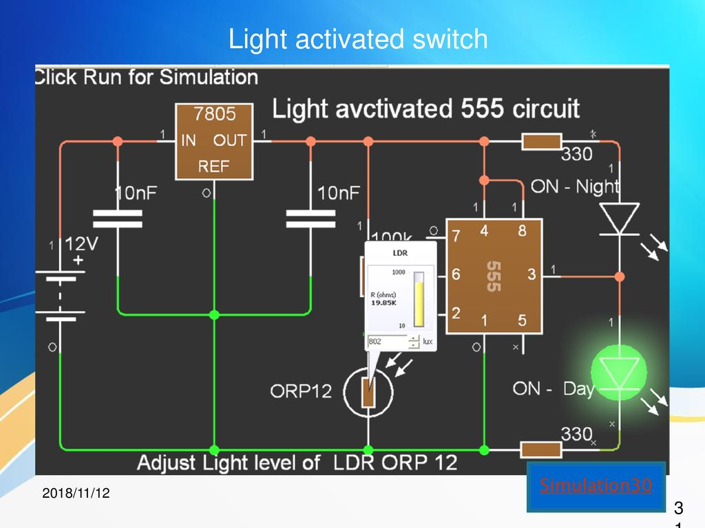 Electronics Revolution Through Information Technology Ppt Download 555 Circuit Simulator 31 Light Activated Switch