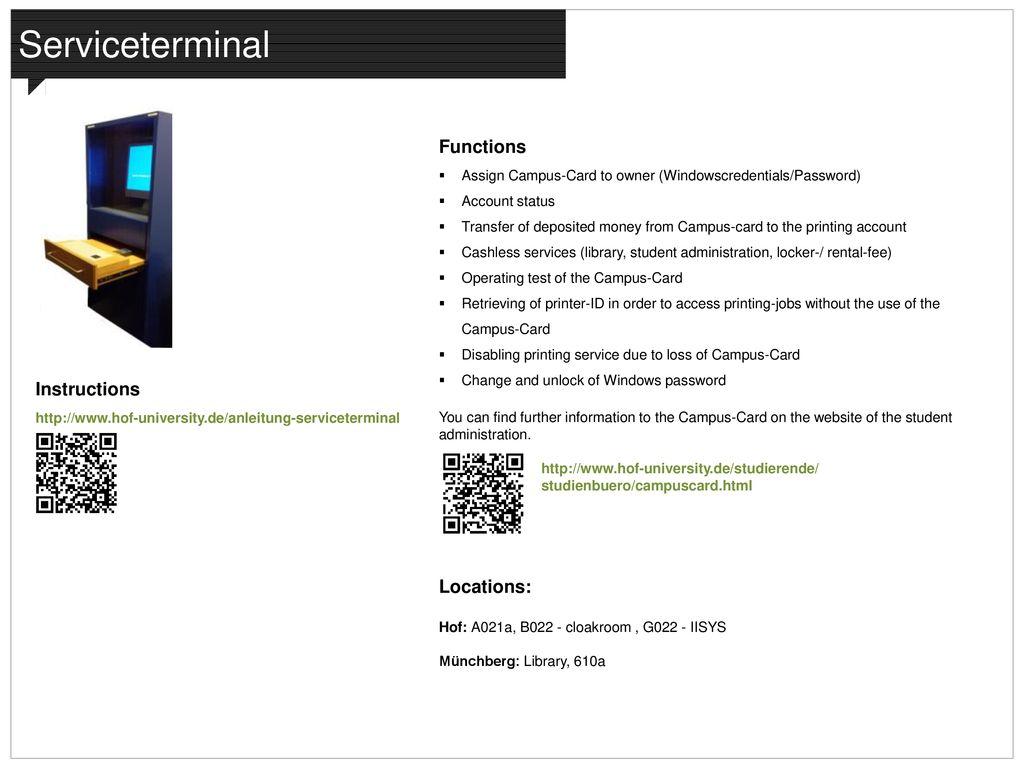 IT-SERVICE IT-Sprechstunde / IT-Opening Hours: - ppt download