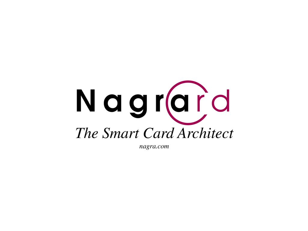 The Smart Card Architect - ppt download