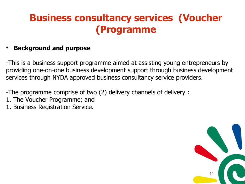 nyda business plan voucher