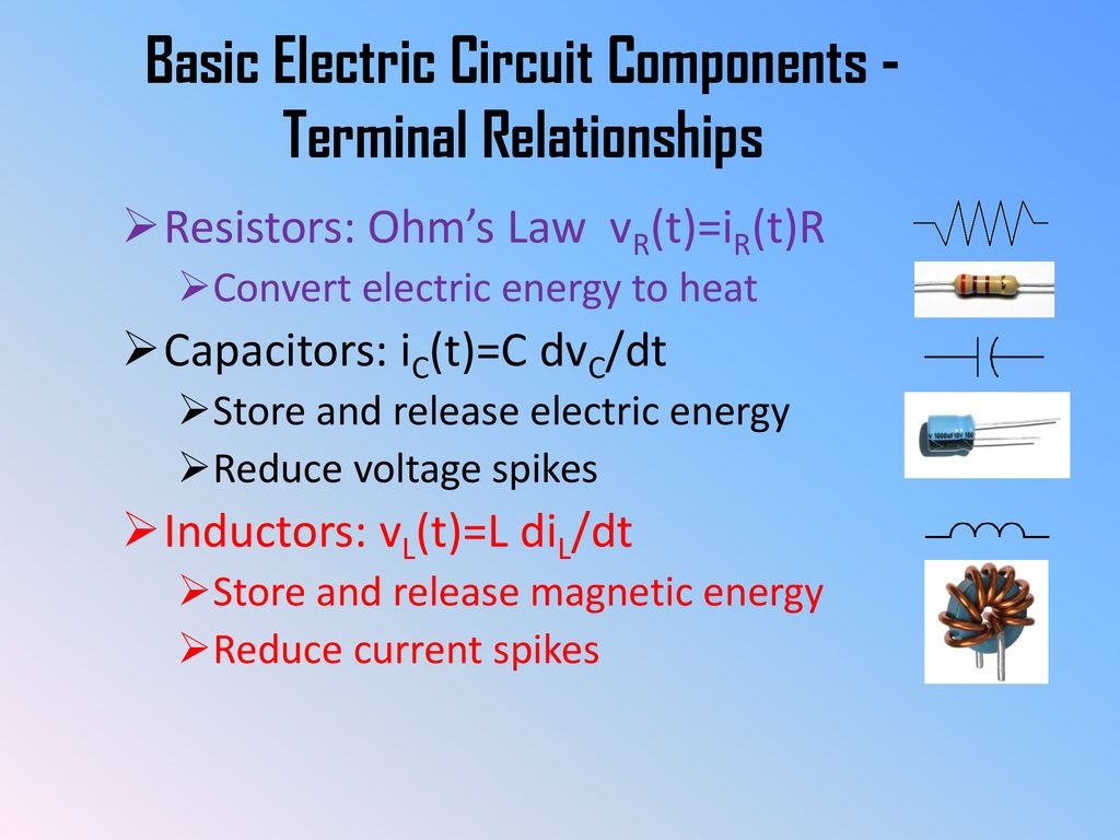 Components Of Electric Circuit