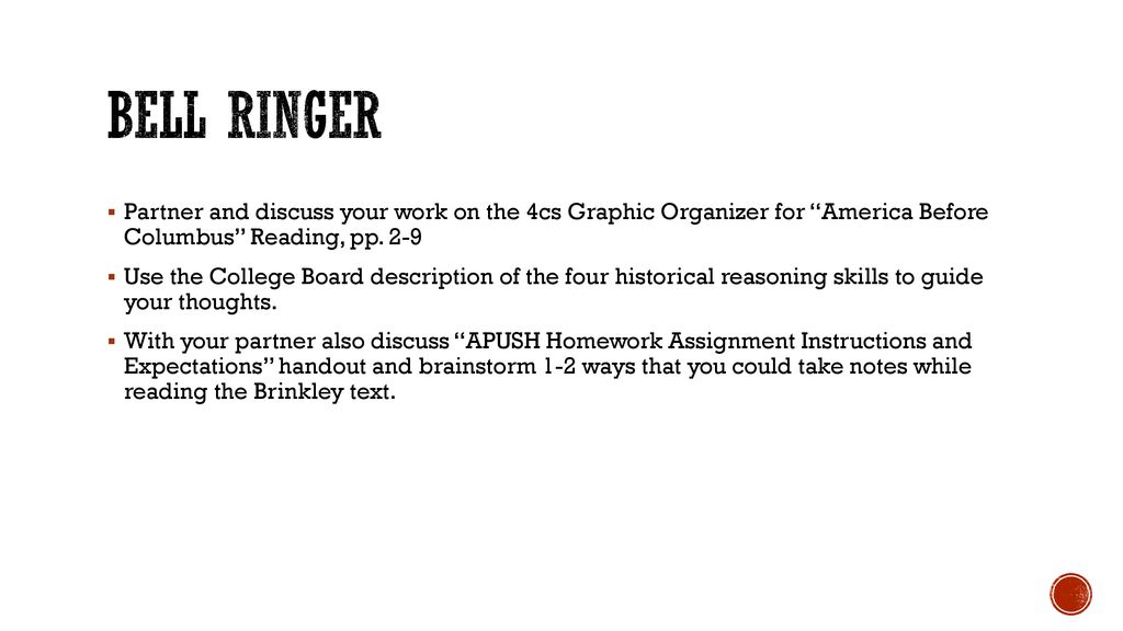 Reading Brinkley And Notetaking  - ppt download