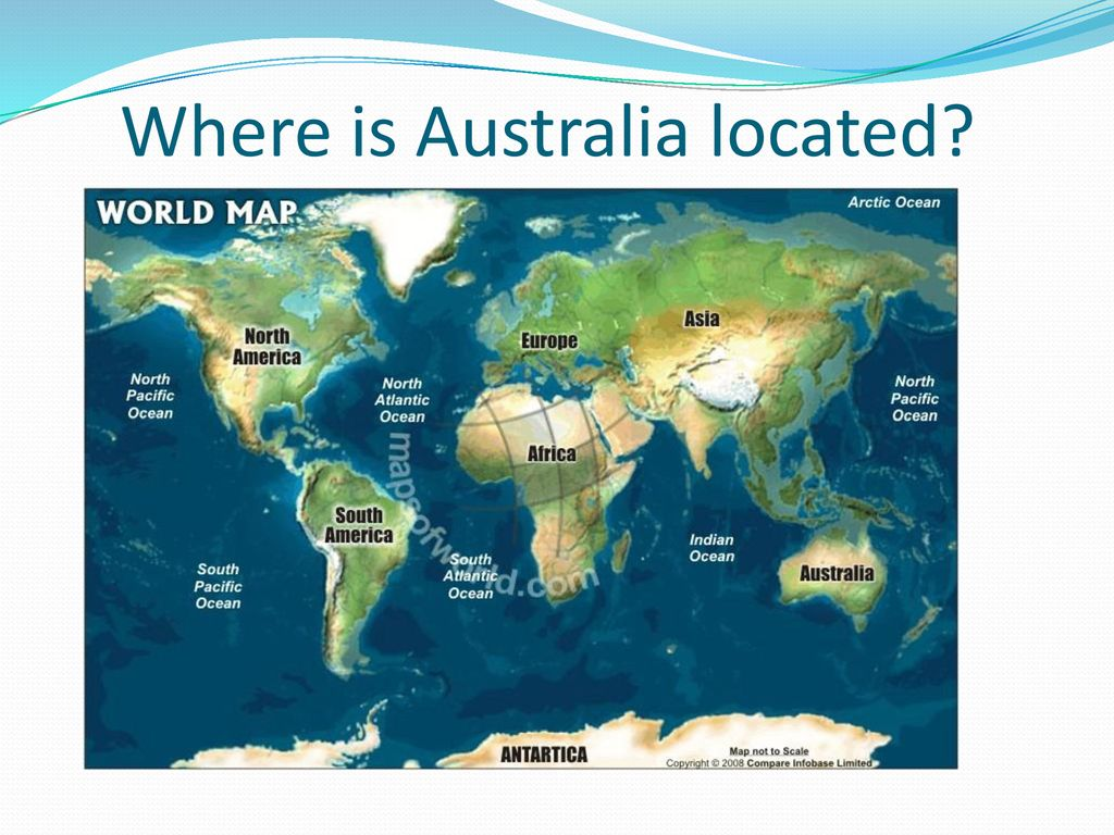 Where Is Australia Located On A Map.Climate Location Population Ppt Download