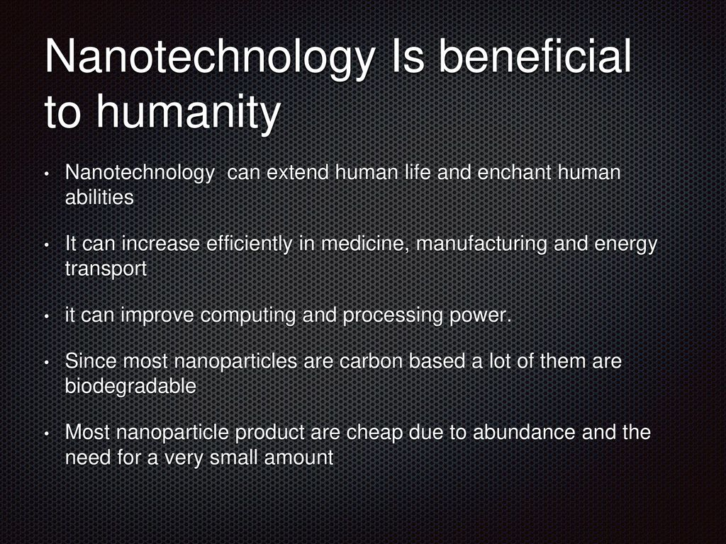 What is Nanotechnology? - ppt download