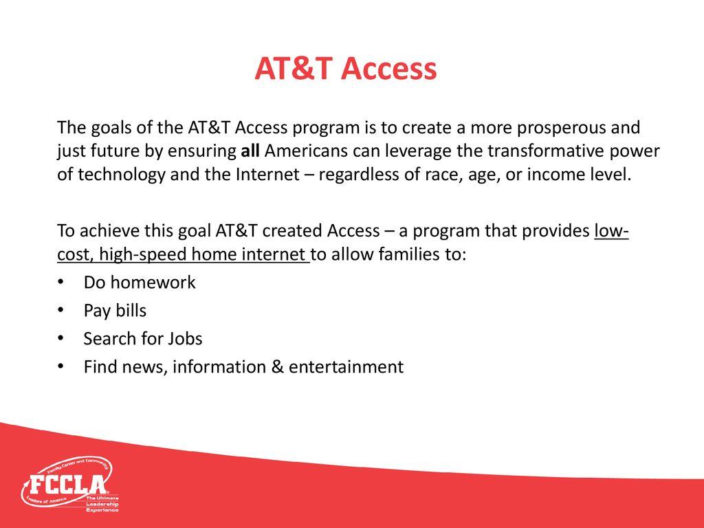at&t access program