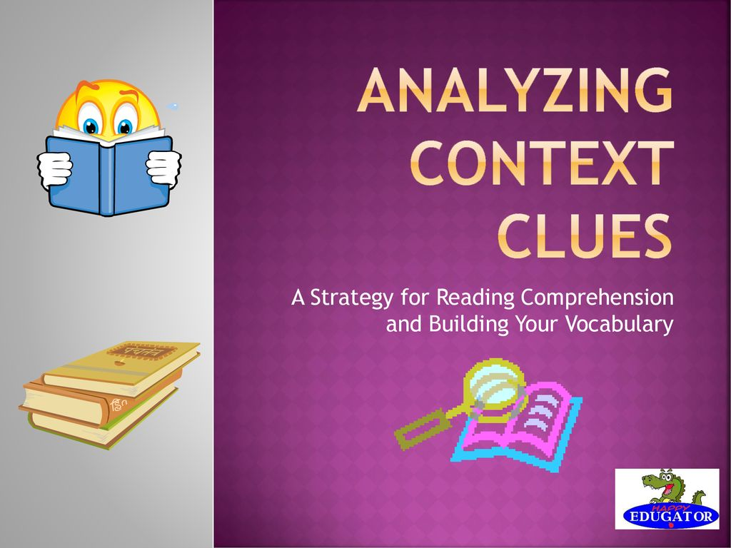 Analyzing Context Clues - ppt download