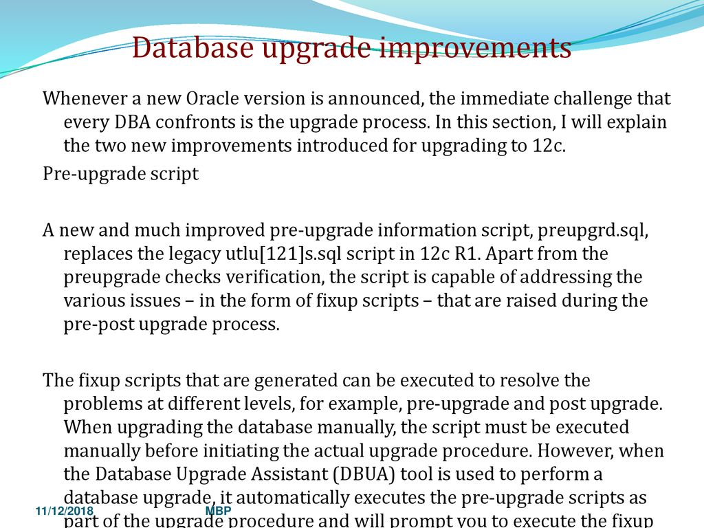 12C Database New Features - ppt download