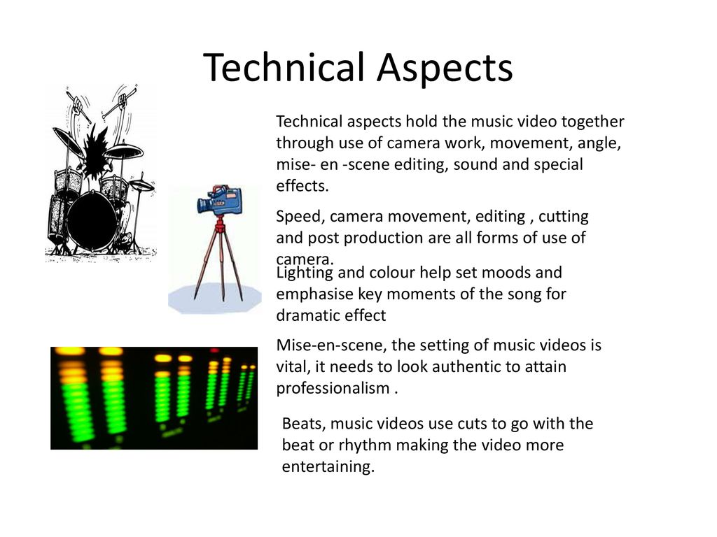 Andrew Goodwin's Theory (Applied to music videos) - ppt download