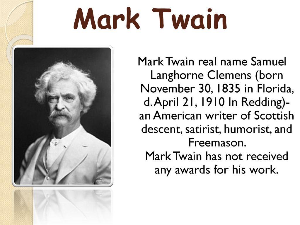 Resultado de imagen para MARK TWAIN FREEMASONRY