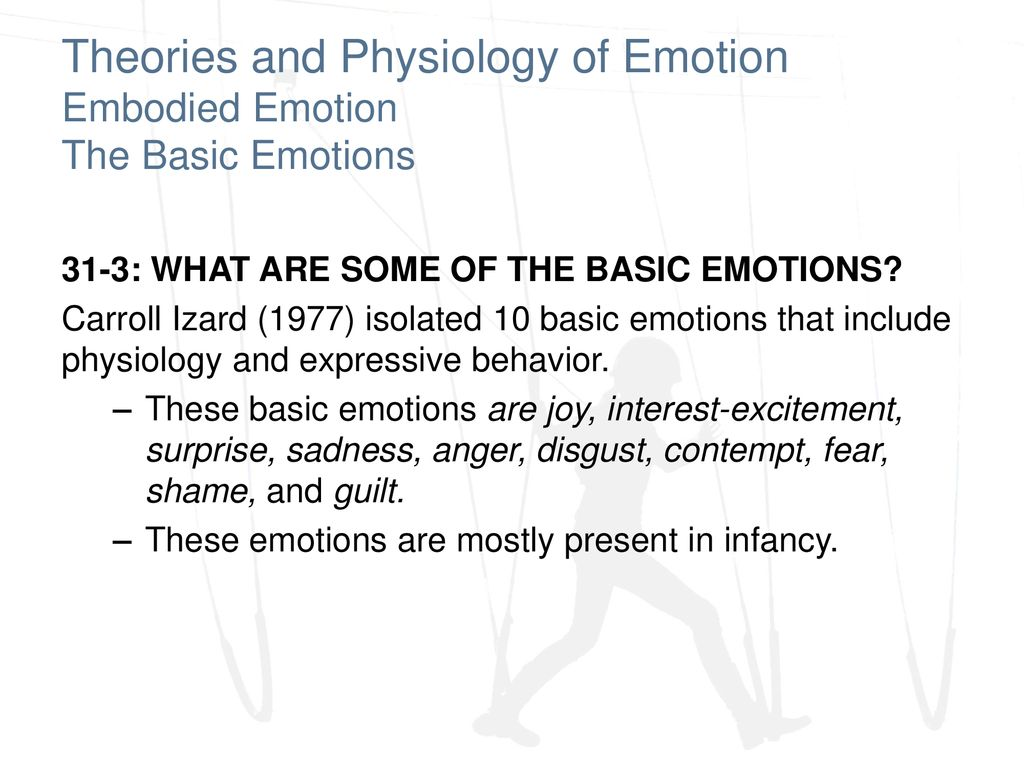 Theories and Physiology of Emotion - ppt download