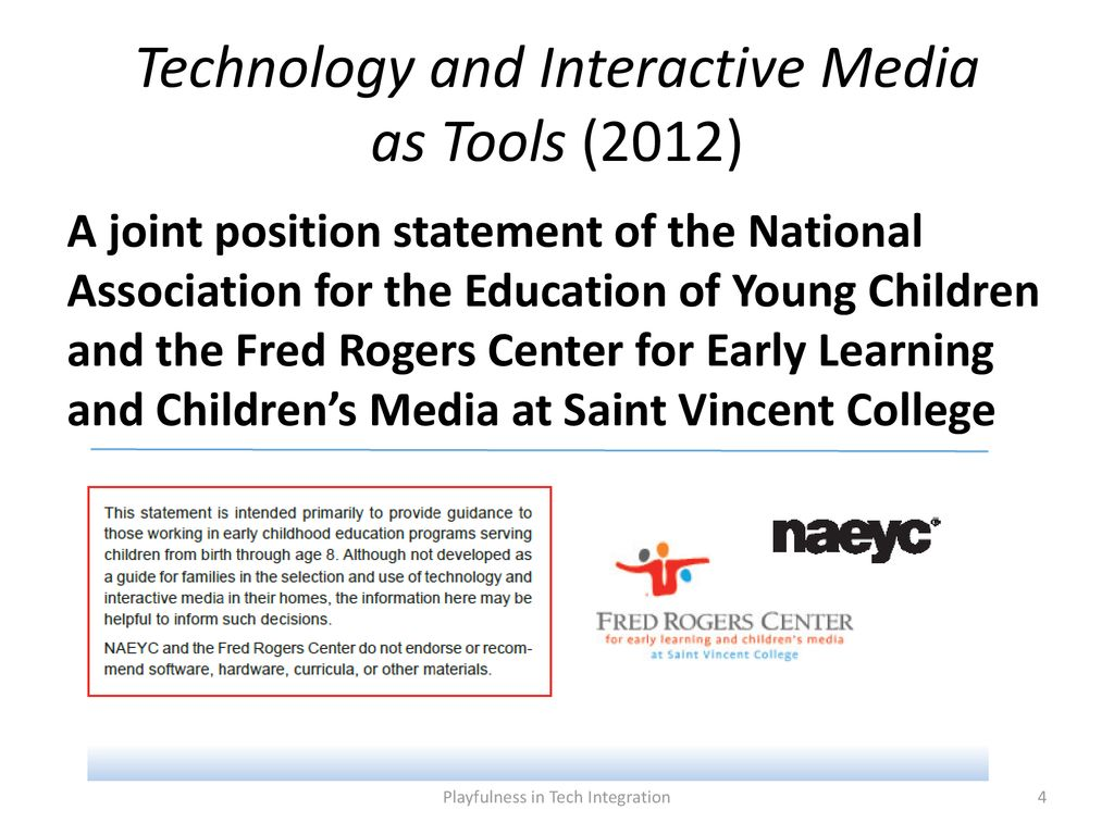 Playfulness In Tech Integration Ppt Download