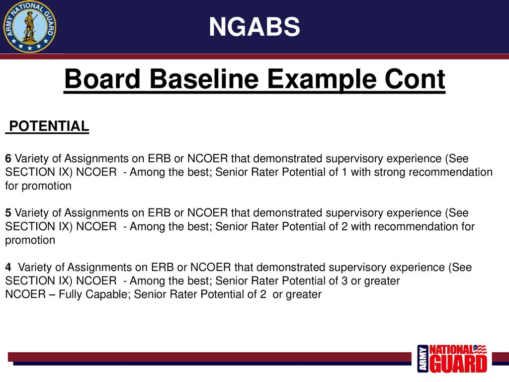 ENLISTED SELECTION BOARDS - ppt download