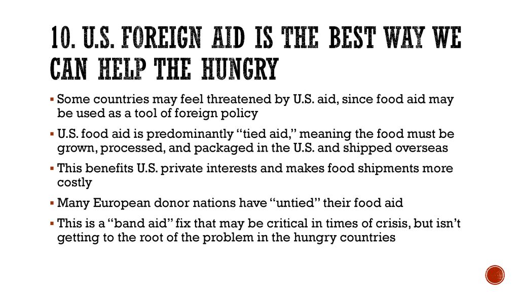 tied aid definition