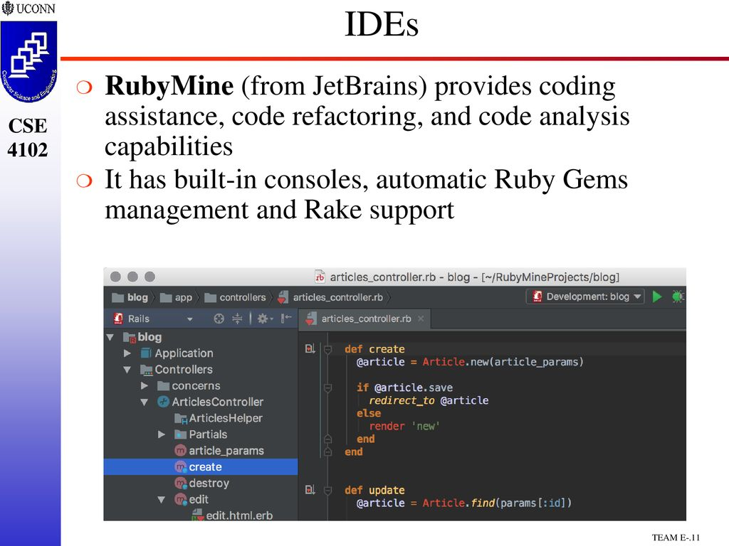 CSE4102/5102 Team Project Ruby & Ruby on Rails - ppt download