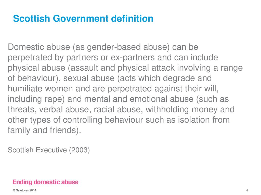 domestic abuse & risk identification - ppt download