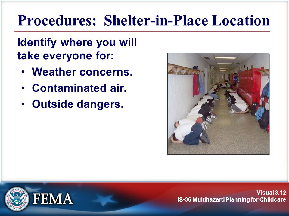 Procedures: Shelter-in-Place Location