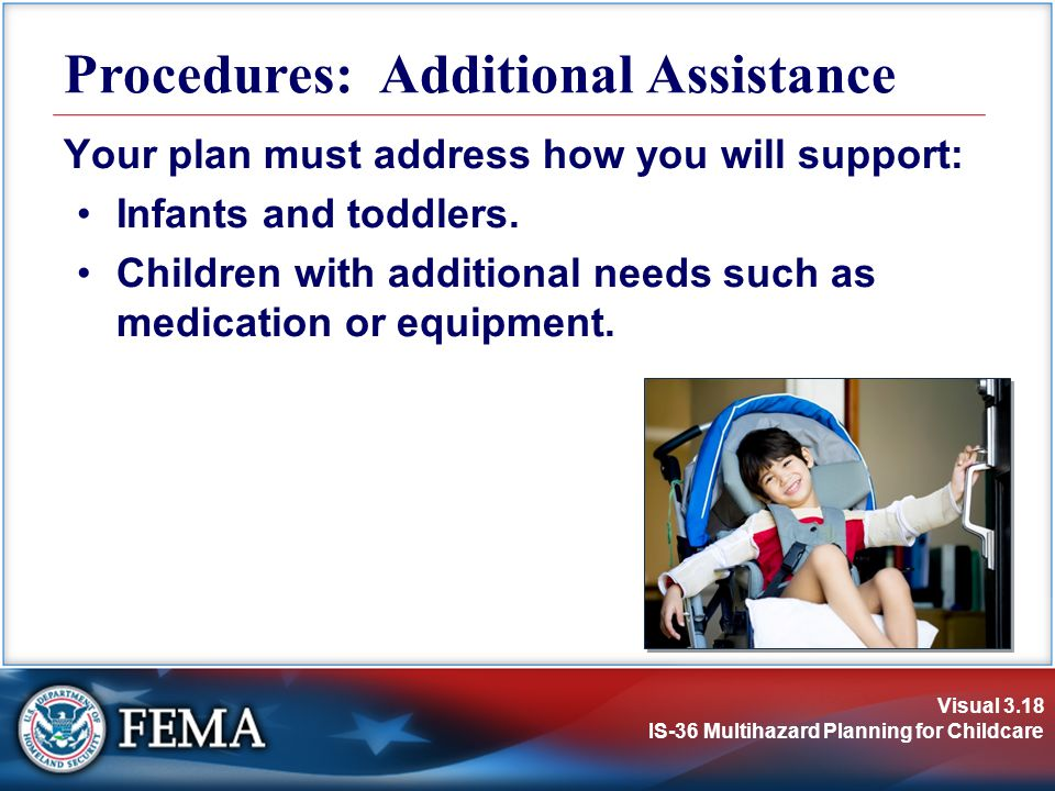 Procedures: Additional Assistance