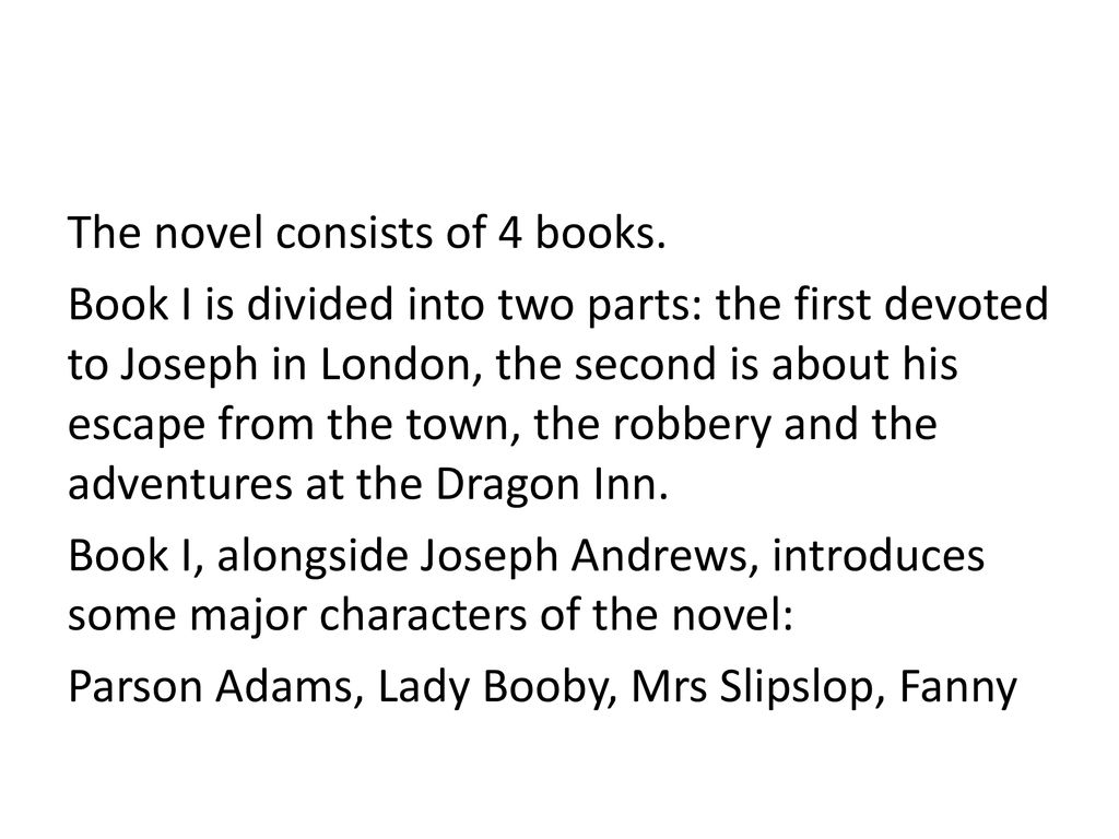 describe joseph andrews as a picaresque novel