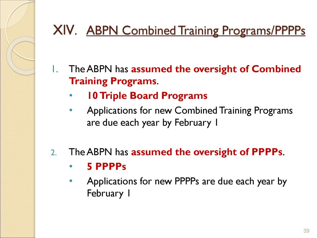 Update on the ABPN for AADCAP by Larry R  Faulkner, M  D - ppt download