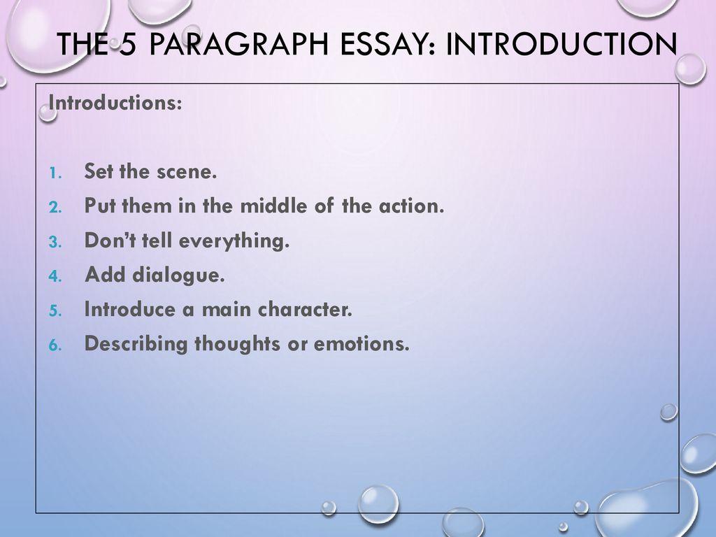 dialogue introduction essay