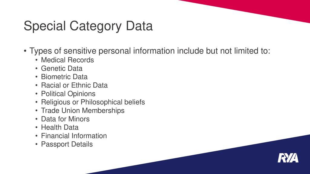 General Data Protection Regulation (GDPR) - ppt download