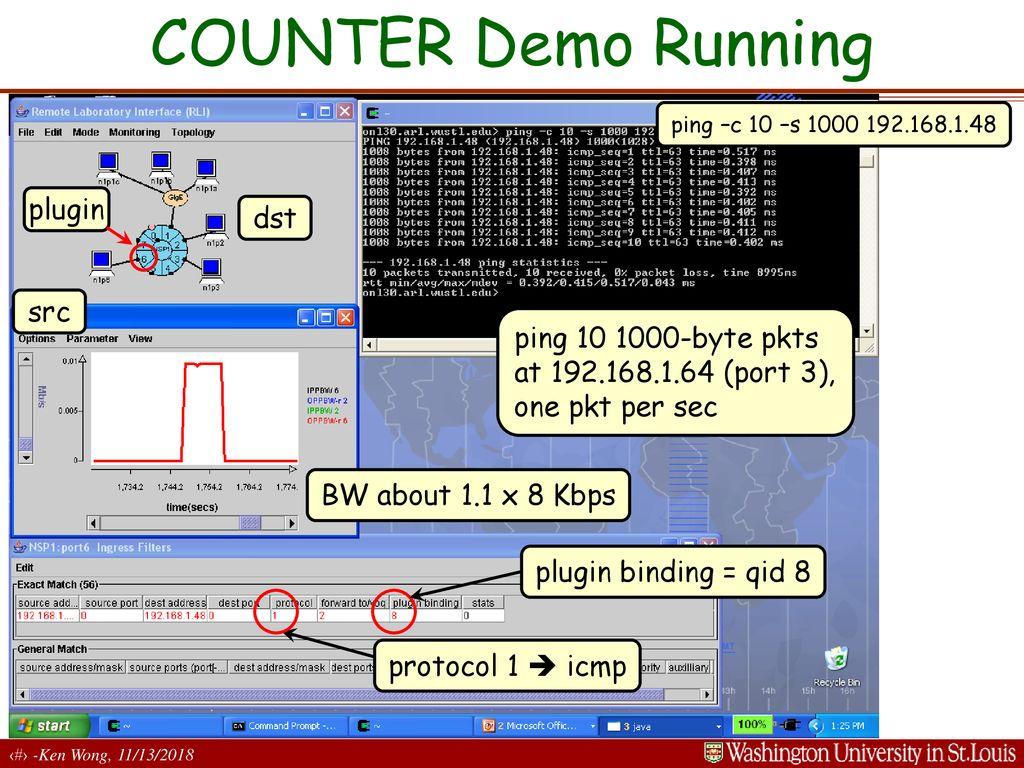 Lwip Ping Demo