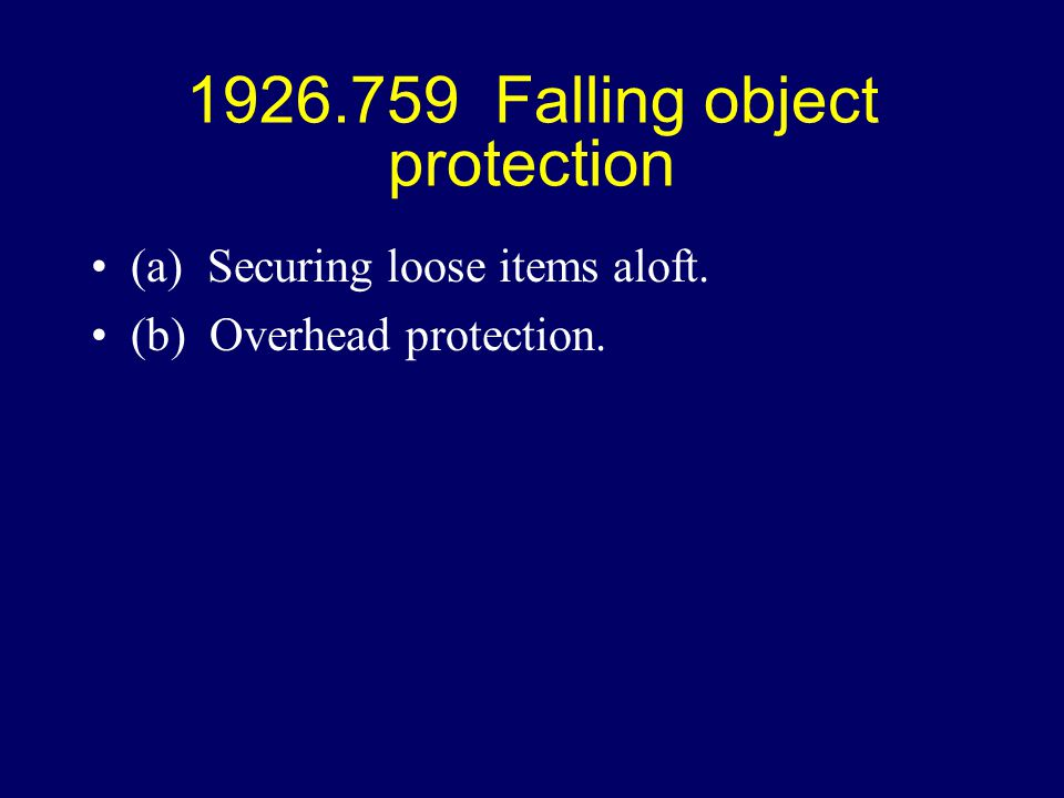 1926 Subpart R Part I History Of Senrac Ppt Download