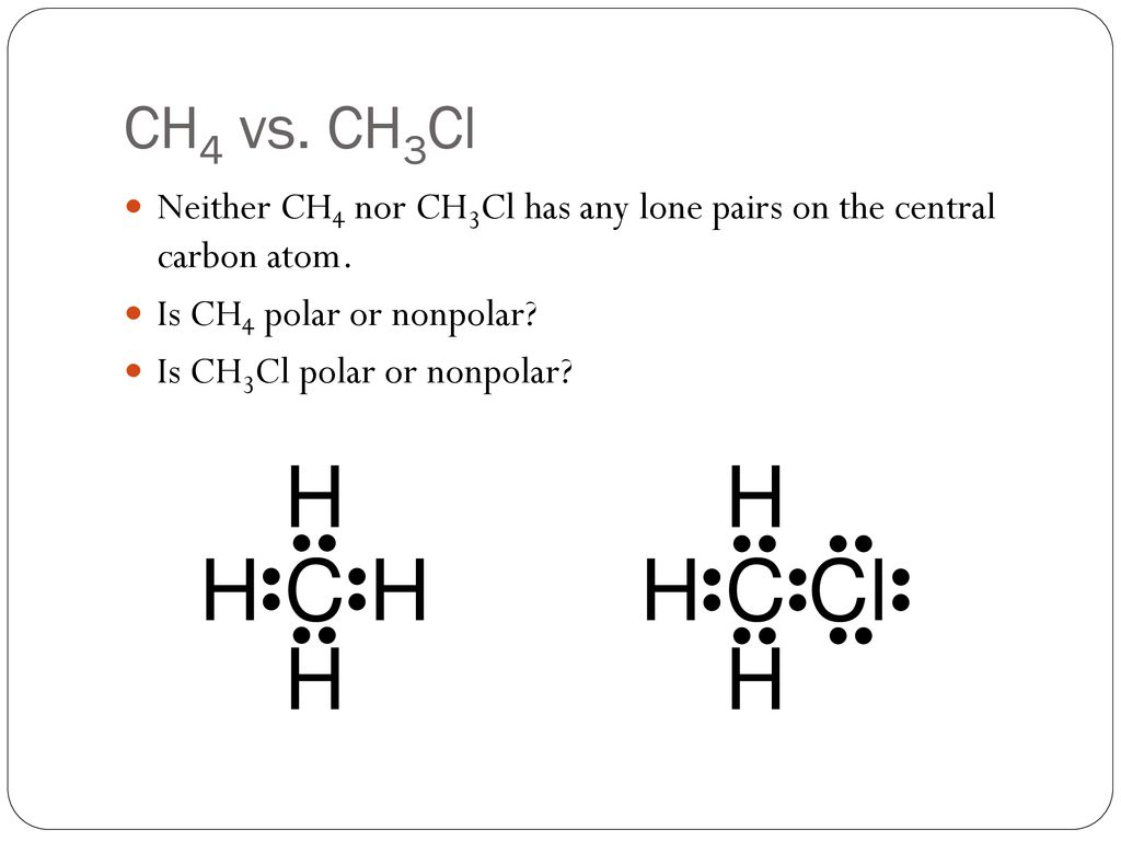 Polarity And Intermolecular Forces Ppt Download