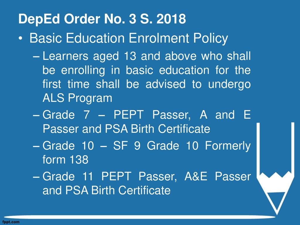 What Is Deped Project 555
