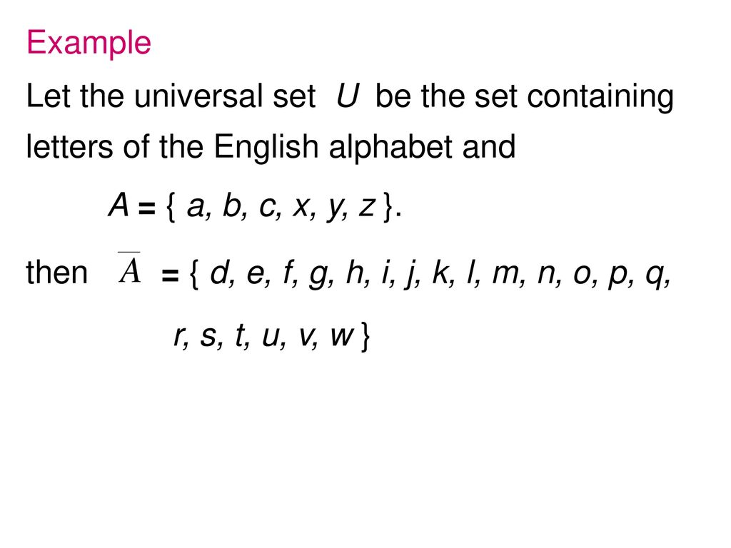 Set Theory A B C Ppt Download