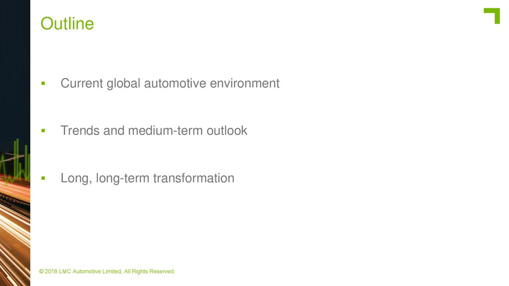 Outlook Global Automotive Industry - ppt download
