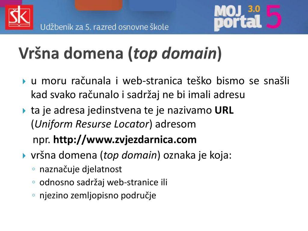 Web mjesto za upoznavanje s bijelim oznakama