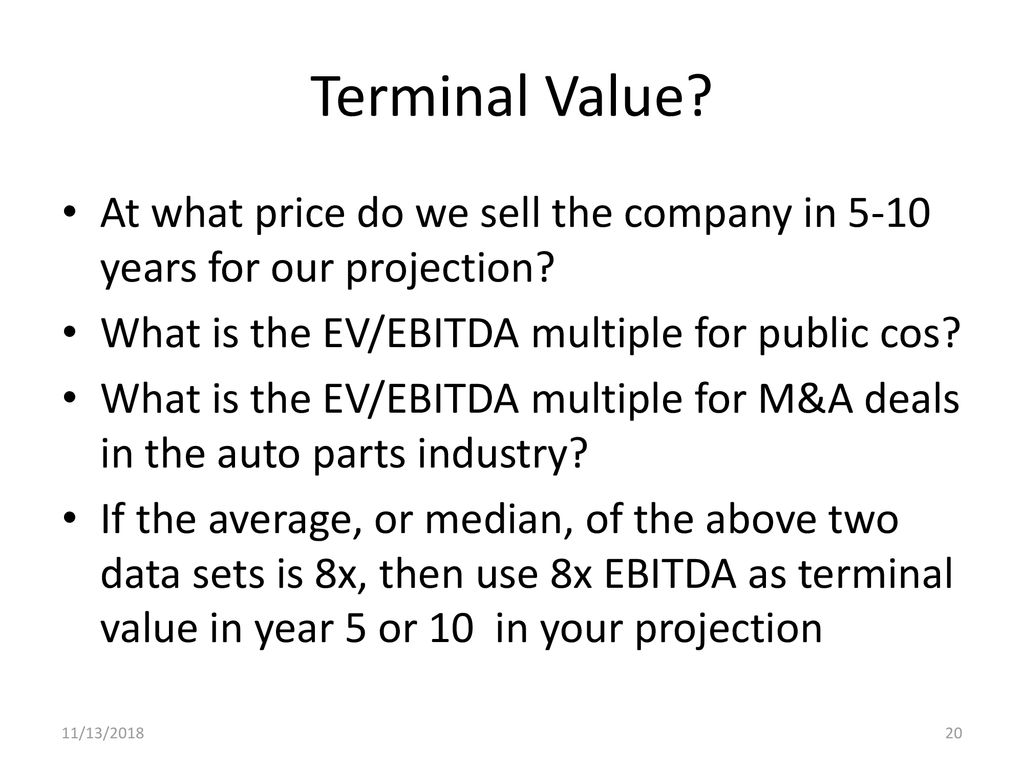 Agenda VC Structure Review Valuation, 7 methods Overview of Term