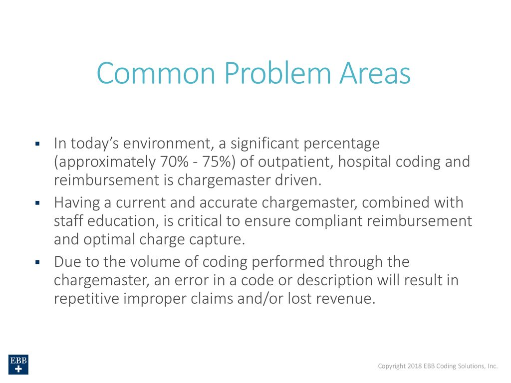 Charge Description Master Enhancing Revenue And Compliance Ppt