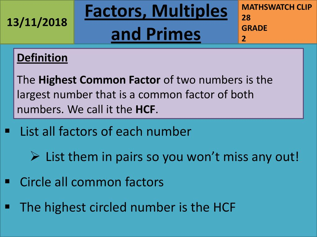what is special about all of these numbers? - ppt download