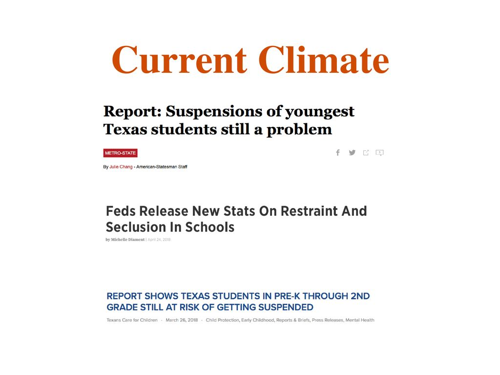 Feds Release New Stats On Restraint And >> Improving School Discipline To Promote Success For Students With