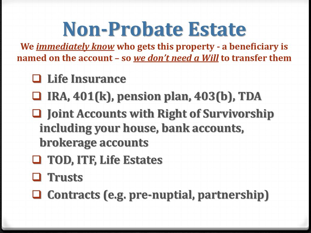 Why You Need a Will and the Importance of Estate Planning - ppt download