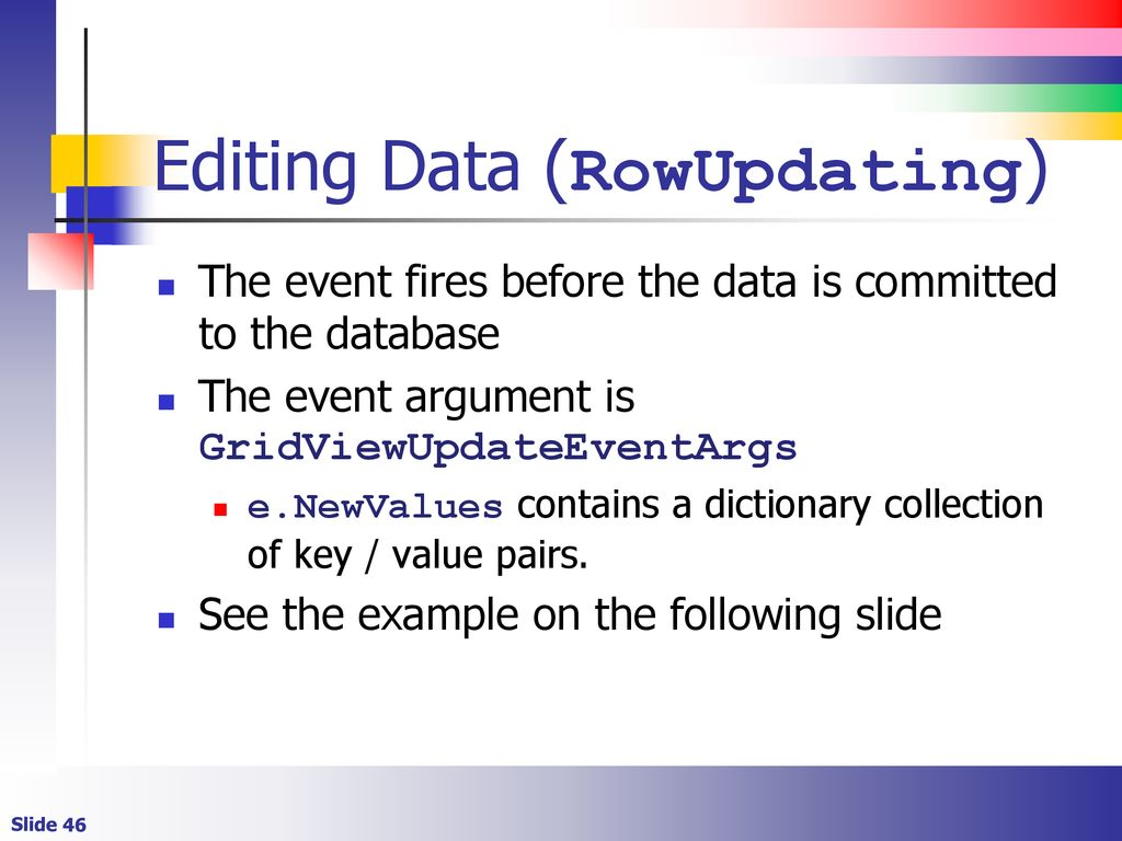 Rowupdating event fires twice