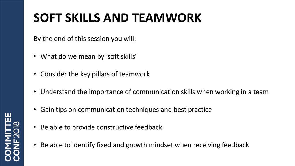 soft skills and teamwork ppt download