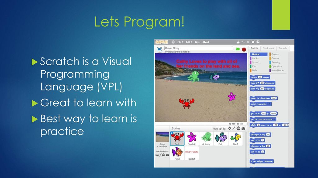 Programming Is Fun! This is an example Power Point presentation