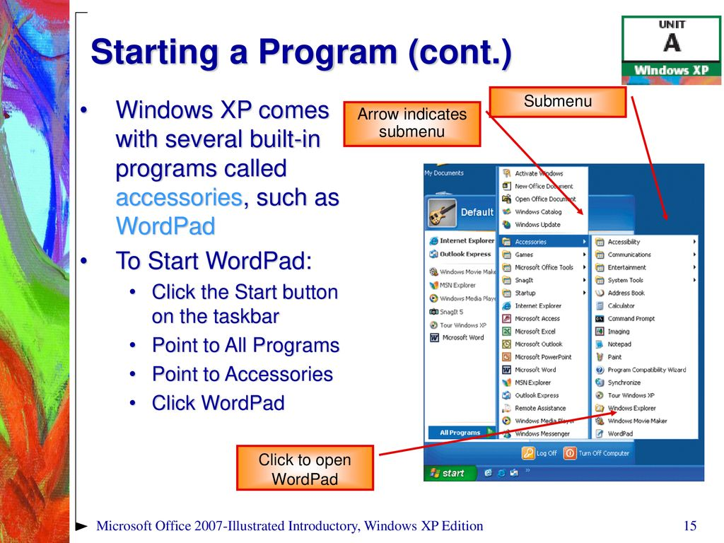 Microsoft Office Illustrated Introductory, Windows XP