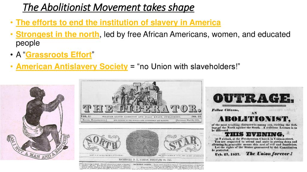 american anti slavery society definition