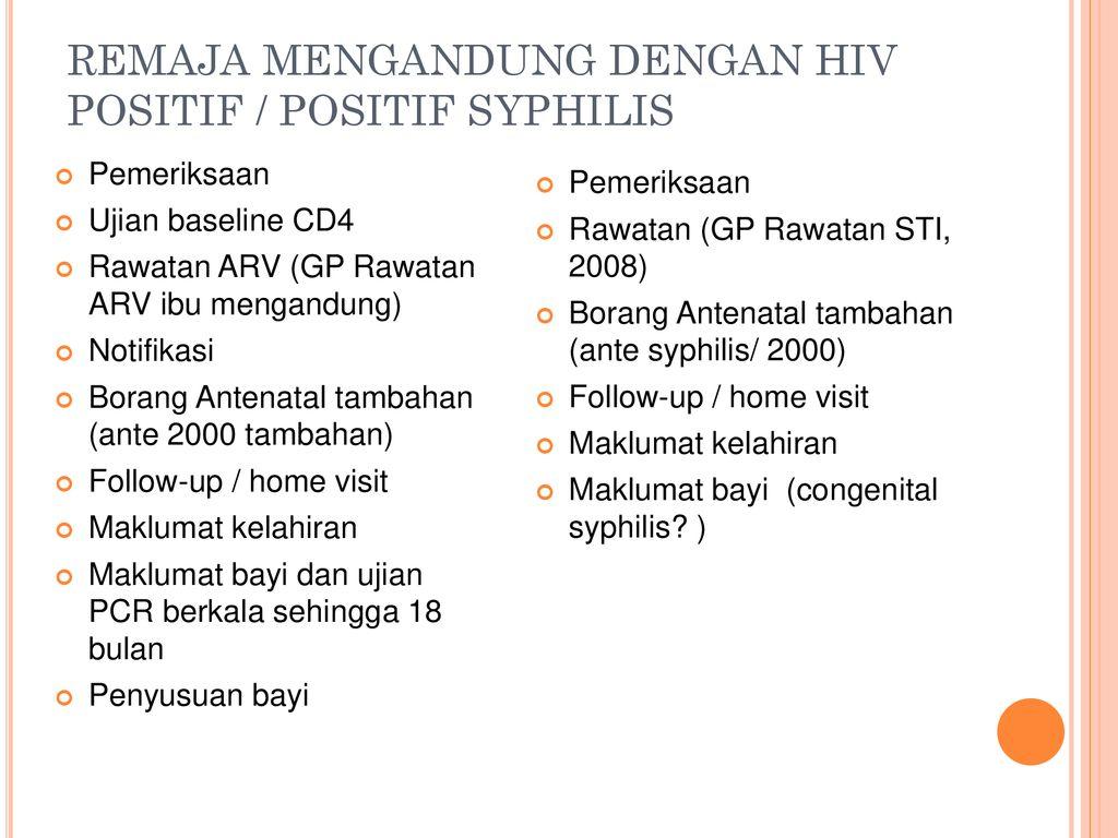 Pengendalian Penyakit Kelamin Dan Hiv Aids Di Klinik Kesihatan