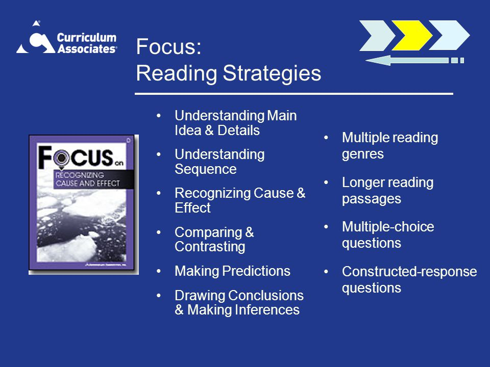 Focus: Reading Strategies
