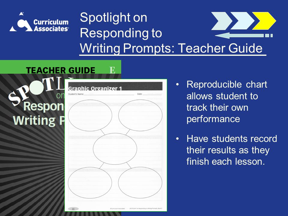Spotlight on Responding to Writing Prompts: Teacher Guide