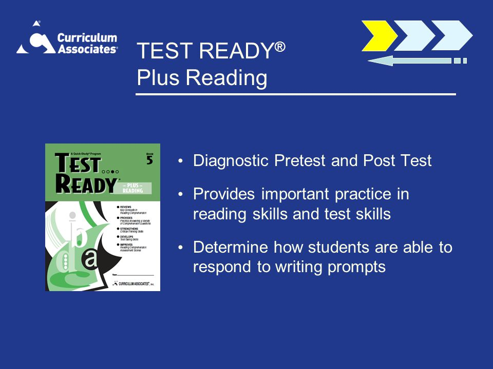 TEST READY® Plus Reading