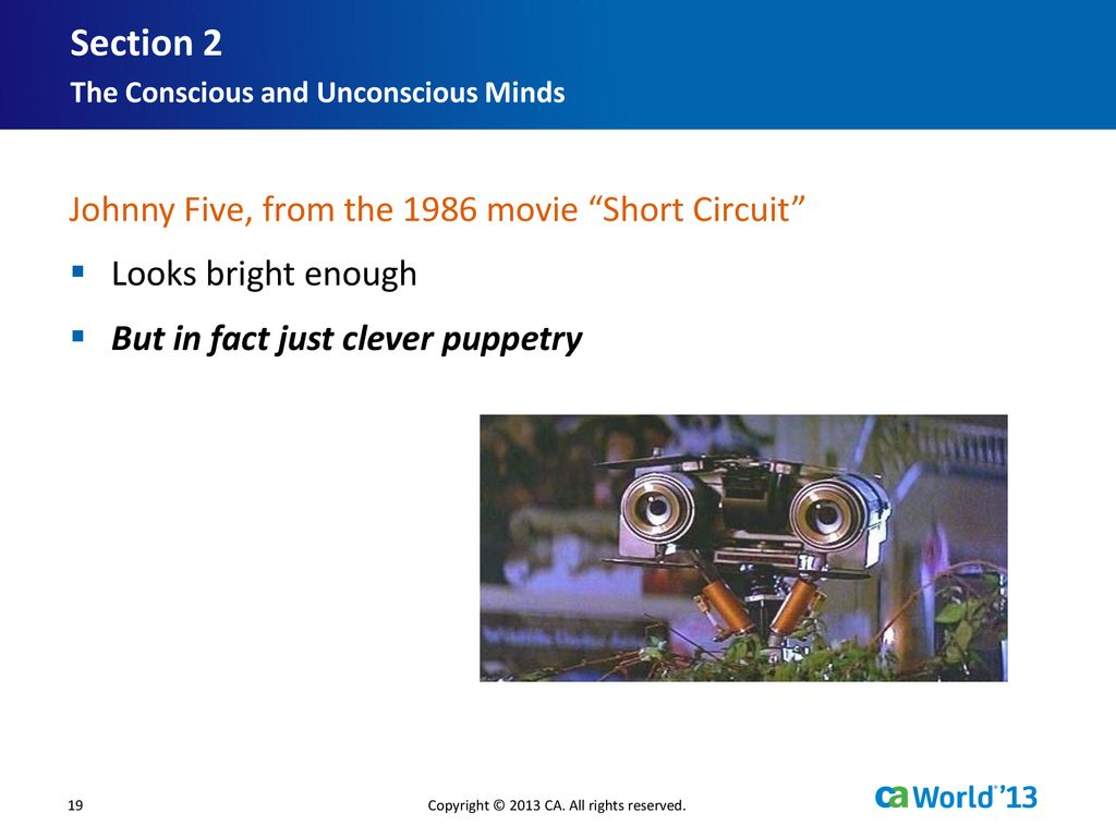 Modernize Optimize Your Mainframe Ppt Download Johnny Five Short Circuit 2 Section From The 1986 Movie