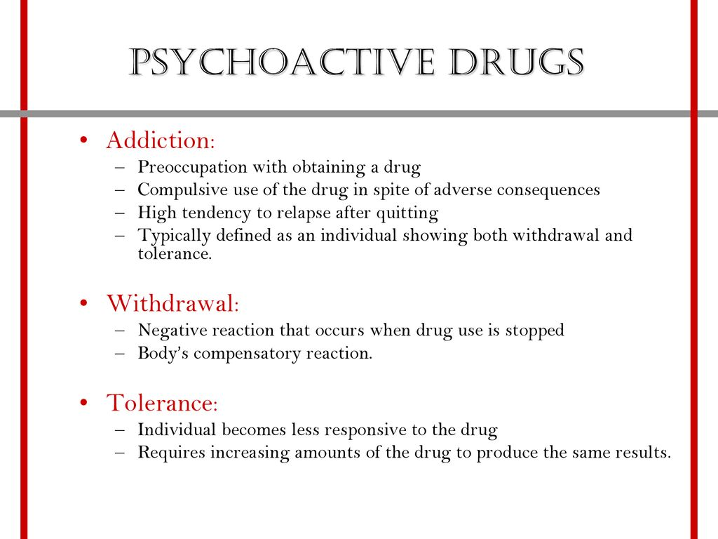 drugs, addiction, and reward psychoactive drugs - ppt download